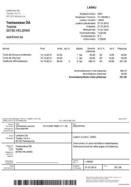 ilmainen laskupohja pdf Imatra